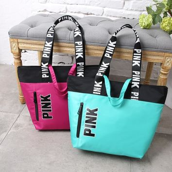 Canvas Tote Bag Waterproof Bags Shoulder Bag [12406472915]