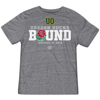 Oregon Ducks Rose Bowl Bound Tri-Blend T-Shirt