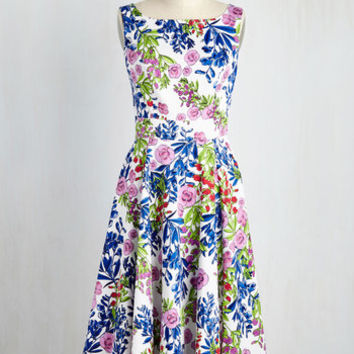 Garden of Early Delights Dress | Mod Retro Vintage Dresses | ModCloth.com