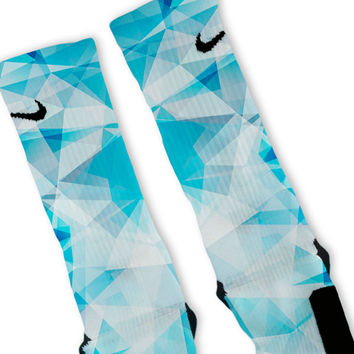 Blue Prism Custom Nike Elite Socks