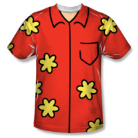 FAMILY GUY QUAGMIRE COSTUME Youth Short Sleeve T-Shirt 100% Polyester