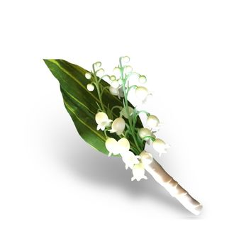 Boutonniere For the Groom / Groomsmen - Free Shipping