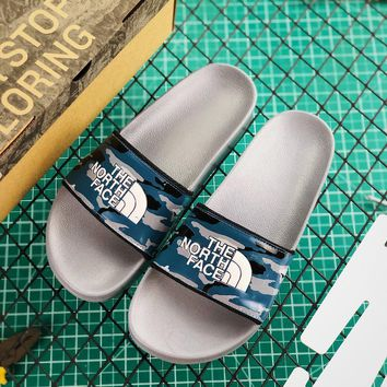 Atmos x The North Face TNF Base Camp Slide II Camo Grey - Best Online Sale