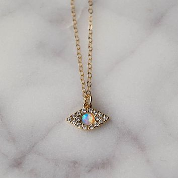 Bright Eyes Necklace