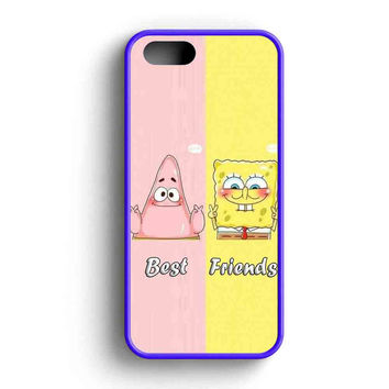 Spongebob Squarepants And Patrick Best Friends Forever  iPhone 5 Case iPhone 5s Case iPhone 5c Case