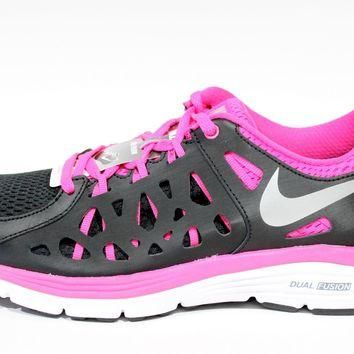 Tagre™ Nike Women's Dual Fusion Run Black/Pink Running Shoes 599564 006