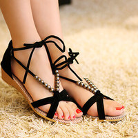 women sandals low heel wedges summer casual single shoes woman sandal fashion soft slippers