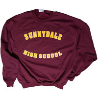 Buffy the Vampire Slayer Inspired Sunnydale High Sweatshirt