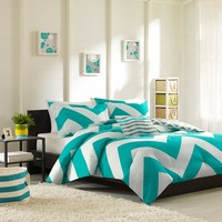 Mi-Zone Libra Comforter Set, Blue, Full/Queen