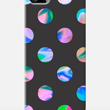 PSYCHEDELIC iphone 6 case, new iphone 6, polka dot iphone case, marbles pattern, 90s pattern case, colourful case, protective cell cover