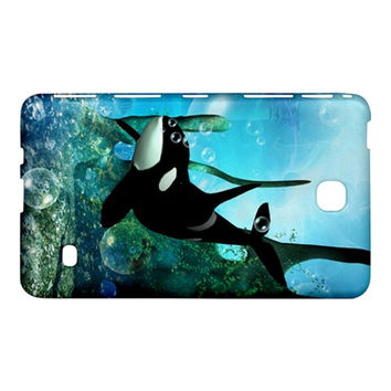 "Orca Swimming In A Fantasy World Samsung Galaxy Tab 4 (7"") Hardshell Case"