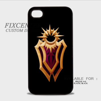 League of Legends Leaona's Shield - iPhone 4/4S Case