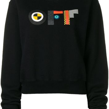 Multi-Design Retro Logo Sweatshirt by OFF-WHITE