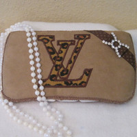 Baby wipe  case-Louis Vuitton inspired