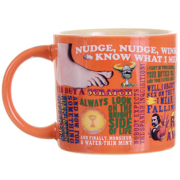 Monty Python Quirky Quips & Quotes Mug