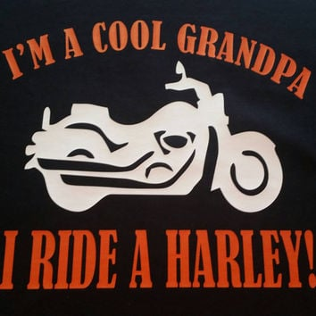 Motorcycle shirts -Father's day - grandpa -harley - motorcycle shirts - grandparent shirts - grandpa shirts - harley davidson