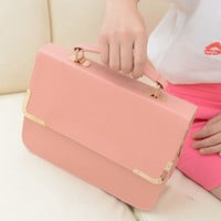 Korean Ladies Strong Character Fashion Simple Design Stylish Bags Shoulder Bags [6583182215]