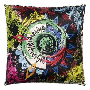 Christian Lacroix Barock And Roll Réglisse Cushion