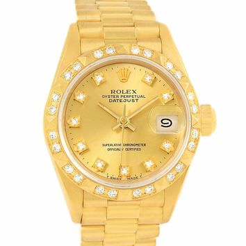 Rolex Day-Date automatic-self-wind womens Watch (Certified Pre-owned)