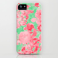 Roses Are Pink iPhone & iPod Case by Shawn King