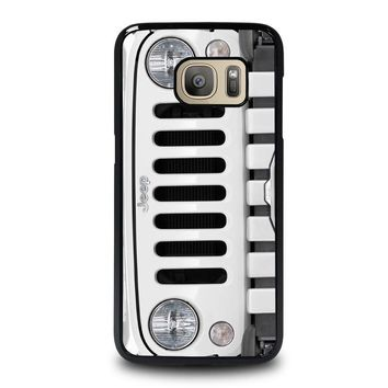 JEEP SILVER Samsung Galaxy S7 Case Cover