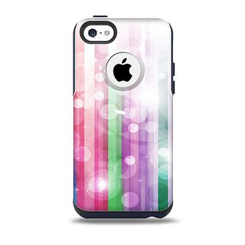 The Unfocused Color Vector Bars Skin for the iPhone 5c OtterBox Commuter Case