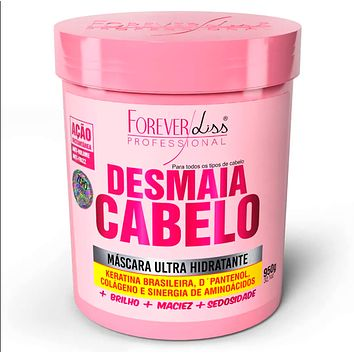Ultra Hydrating Mask Desmaia Cabelo - Forever Liss 950g