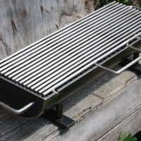 "824H-SS The New ""Hibachinator"" Hibachi Grill w/ Stainless Steel Top"