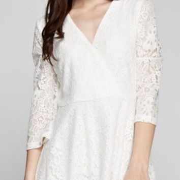Moving Foward Lace Dress
