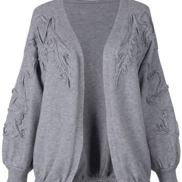 Cupshe See You Around Casual Sweater Cardigan