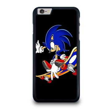sonic the hedgehog skateboard iphone 6 6s plus case cover  number 1