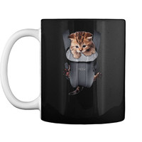 Meow Cat Kitten Carrier  Mug