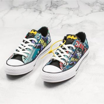 Converse x Batman Low Skateboarding shoes 03