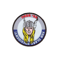 Thor Embroidered Iron-On Patch