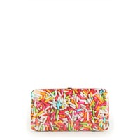 Photo Wallet with Multicolor Sprinkles