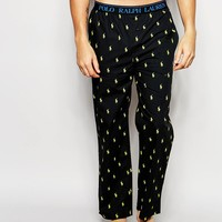 Polo Ralph Lauren Logo Woven Lounge Pants In Regular Fit at asos.com
