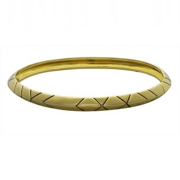 House of Harlow 1960 Jewelry Aztec Stack Bangle -
