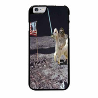 sloth llama lasers on moon case for iphone 6 plus 6s plus