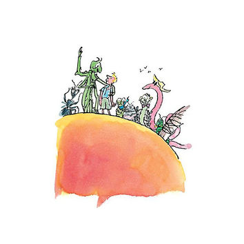 James and the Giant Peach by erinlivingston