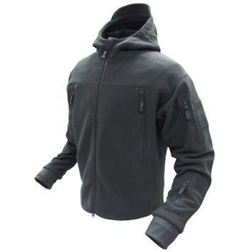 Sierra Micro Fleece Jacket Color- Black