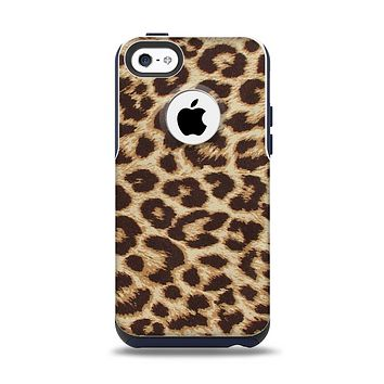 The Simple Vector Cheetah Print Apple iPhone 5c Otterbox Commuter Case Skin Set