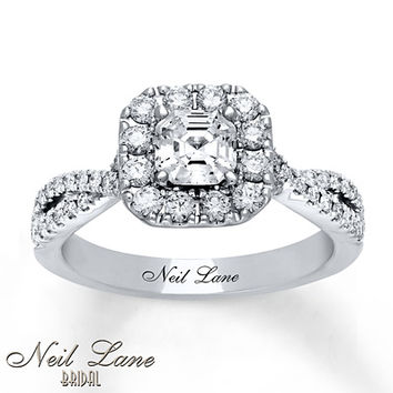 Neil Lane Engagement Ring 1 1/4 ct tw Diamonds 14K White Gold