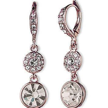 Givenchy Rose Gold Drop Earrings - Rose Gold