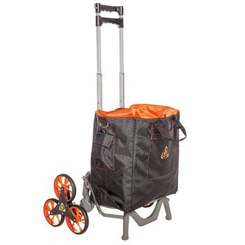 Upcart Deluxe Stair Climbing Hand Truck with Bag