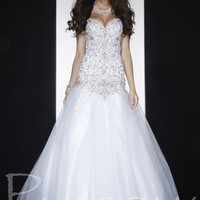 Panoply 14598 White Ball Gown