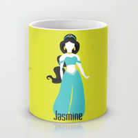 Jasmine from Aladdin Disney Princess Mug by Alice Wieckowska