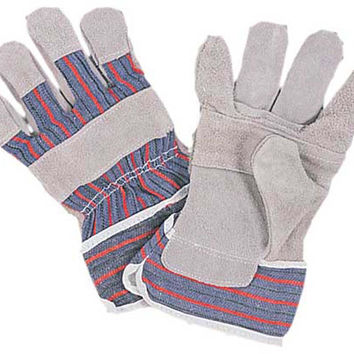 Men's Leather Gloves: Knit wrist :  ( Pack of  2 Pairs )