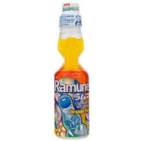 Ramune Orange (Marble Soda)