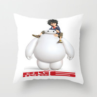 Big Hero 6 Best Picture Throw Pillow by Giftstore2u
