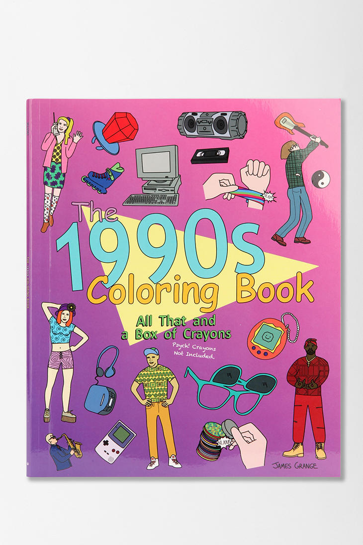 The 1990s Coloring Book All That And A From Urban Outfitters